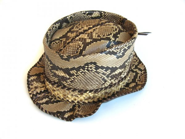 Lost Art Python Skin Hat